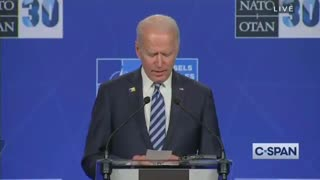 CAUGHT AGAIN! Biden Literally Reads Off of a List of Pre-Approved Reporters to Ask Questions