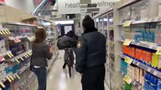 Shoplifter caught on camera