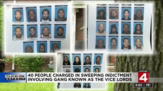 40 Detroit Vicelord Gang Members Indicted by Feds in 3 Year Long Investigation
