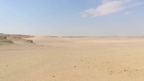 Morning Nature Desert In Wadi El Rayan
