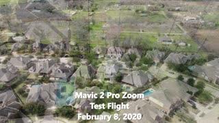 Mavic 2 Pro Zoom Test Flight, Feb 8, 2020