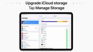 How to upgrade and manage your iCloud Storage
