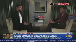 Jussie Smollett on MAGA hats: 'I never said that!'