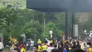 Incendian el peaje de Rionegro