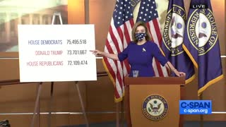 Pelosi Brags About Popular Vote While Dems Abandon Her