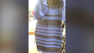 Optical illusion with a dress 2