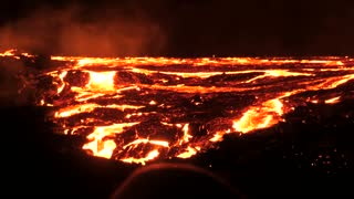 Volcano Island close up amazing video hell on earth