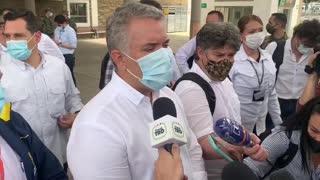 Video: Desde Bucaramanga, presidente Iván Duque rechazó la muerte de líderes sociales