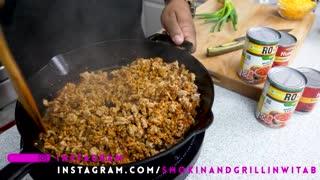 Homemade Turkey Chili | Crockpot Recipe #witAB