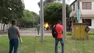 Atentado contra el Ejército en Cúcuta