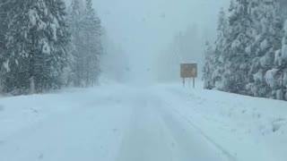 California Snow storm 2021