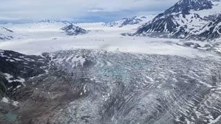 Alaska Glacier Flyover