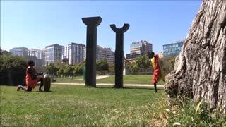 Senegal dance in Santiago, Chile