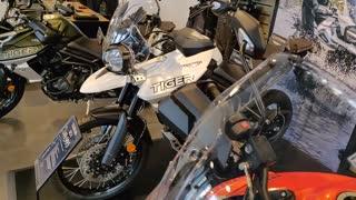 Triumph Motorcycle Showroom Thriller!