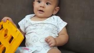 Cute Happy baby