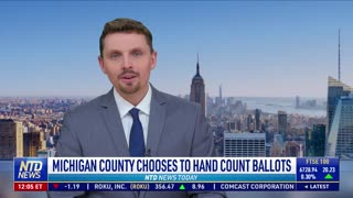 Antrim County Michigan to hand count ballots in May 4th Primary - NO MACHINES! NEW 3/22