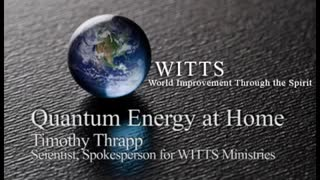 Quantum Energy 2-3 Audio Interview with Timothy Thrapp