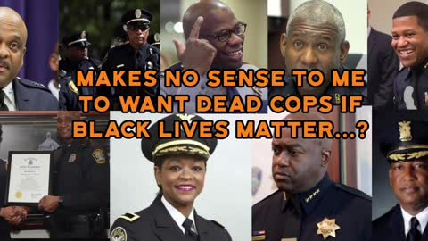 If Black Lives Matter why would you say this?