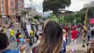 Avanza una nueva jornada de movilización en Bucaramanga