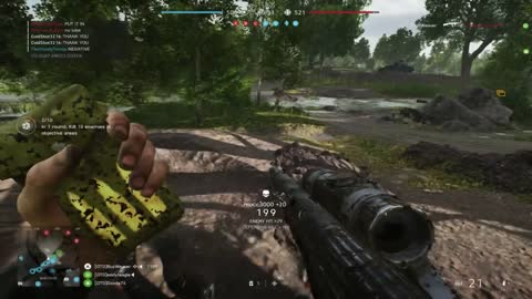 A rock and a hard place. Battlefield 5