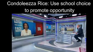 Condoleezza Rice: School choice will create opportunities, equality
