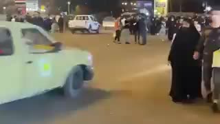 Reports of Grenade attack in Baghdad, Iraq - Security forces rushing to the scene.