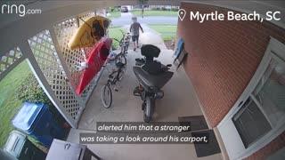 Thieves caught on cctv