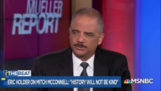 Eric Holder slams Mitch McConnell