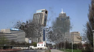 Realistic Building Collapse Adbode