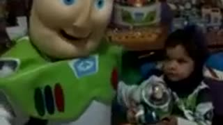 CHILD PARTY WITH CHARACTER COVER TOY STORY BUZZ LIGHTYEAR