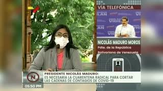 Maduro dice que Venezuela participará en la fase 3 de vacuna rusa Sputnik V