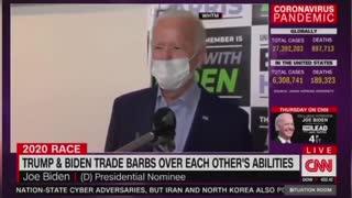 Trump Biden Double standard on health issues