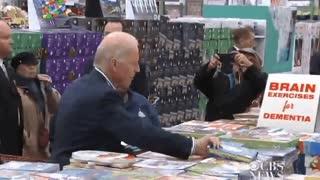Joe Biden Shopping For Self Help Books