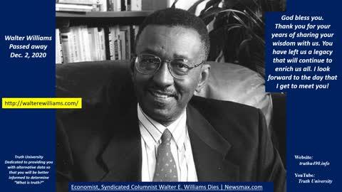 Walter Williams tribute