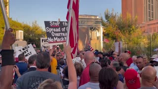 Las Vegas Protest Against Vaccine and Mask Mandates