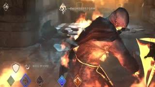 Taking down a necromancer w/fire spells