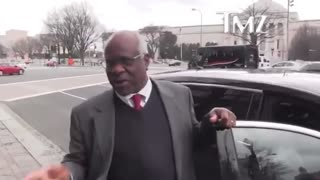 Justice Clarence Thomas Laughs In The Face Of TMZ Reporter