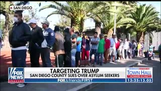 San Diego Co sues Trump Admin over asylum policy