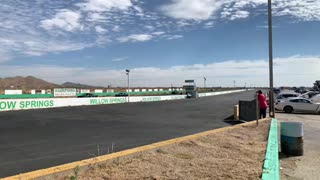 Willow Springs Raceway 2020 mistake