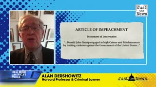 "Alan Dershowitz: Trump impeachment is ""unconstitutional"""