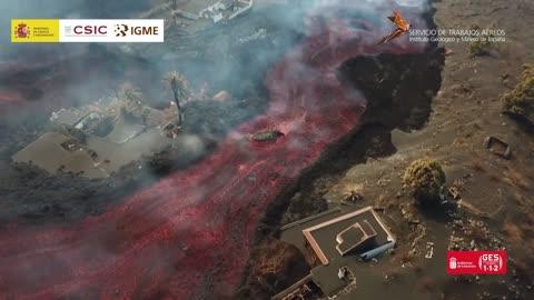🔥La Palma Volcano 10.13.21 UPDATE🔥