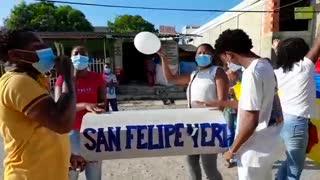 Protesta San Felipe Neri