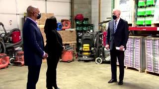Biden kicks off 'Help is Here' tour
