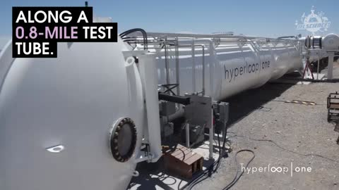 The Winner Of The Hyperloop Competition Reached Over 200MPH