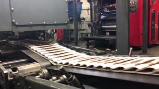 Vídeo de apoyo de la rotativa impresión