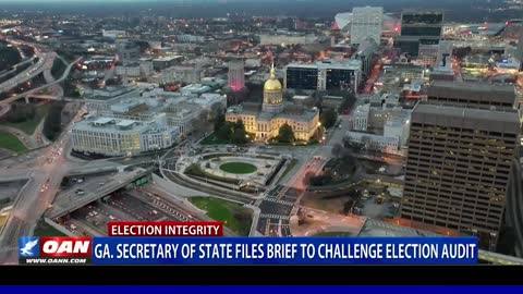 Ga. Secretary of State Raffensperger files brief to challenge election audit