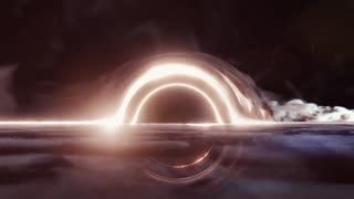 Animation - Black Hole Star Shredder