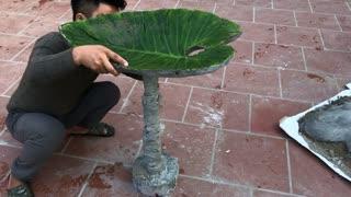 Idea design most creative flower pots - Beautiful garden design construction - Creative idea