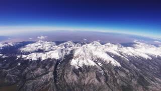 Weather Balloon Flight Over the Sangre de Cristo Mountains