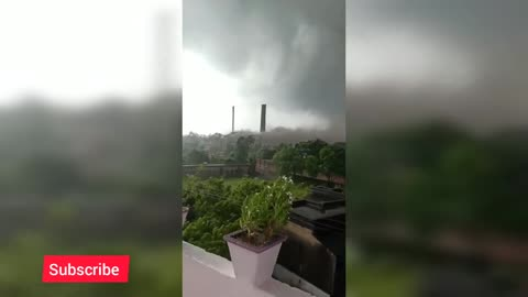 Tornadoes are so powerful in the city
